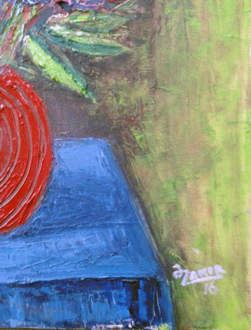 ZAKIR AHMEDOV. Red pitcher2016yea 55X40 cm Original Painting Oil on Canvas 3000$ - photo 2