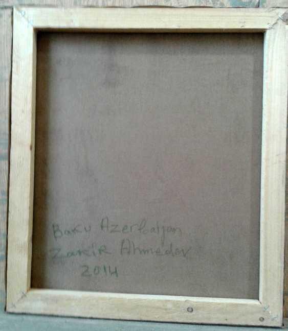 ZAKIR AHMEDOV. FALL.2014year oil on canvas 45x55 cm2500$ - photo 3