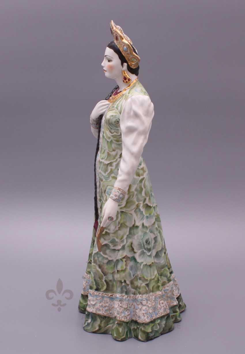 "Figurine ""Mistress of copper mountain"", Dulevo porcelain - photo 4"