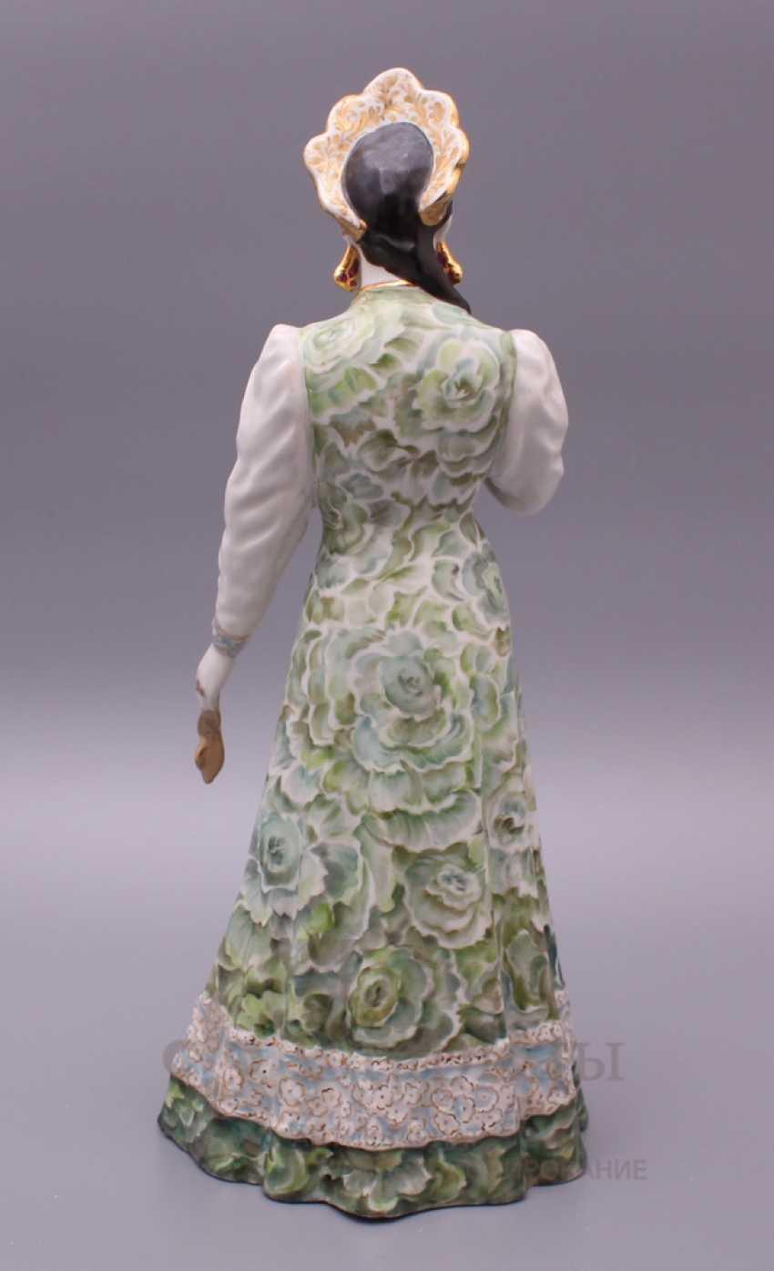 "Figurine ""Mistress of copper mountain"", Dulevo porcelain - photo 5"