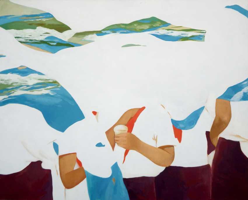 "Vadim Leukhin. the series of painting ""City of childhood"", No. 5 - photo 1"
