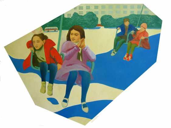 "Vadim Leukhin. the series of painting ""Kaleidoscope"", ""Swing"" - photo 1"