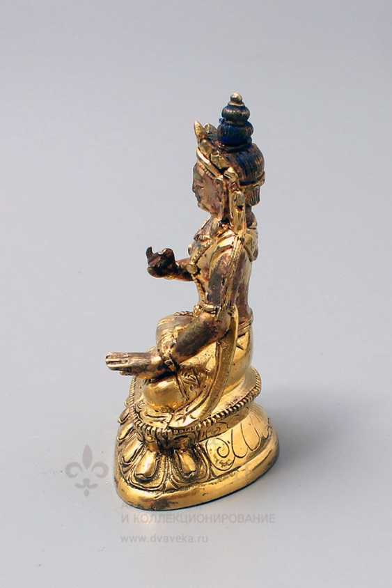 "Vintage bronze figurine ""Buddha"" - photo 2"