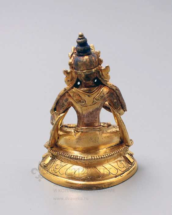 "Vintage bronze figurine ""Buddha"" - photo 4"