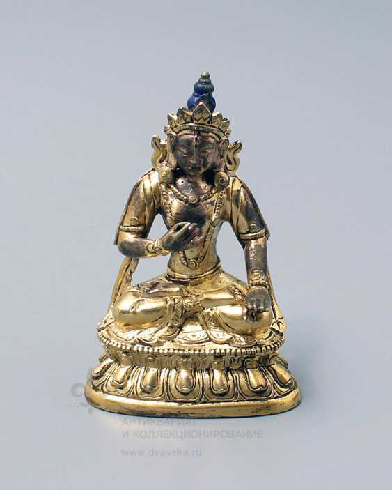 "Vintage bronze figurine ""Buddha"" - photo 1"