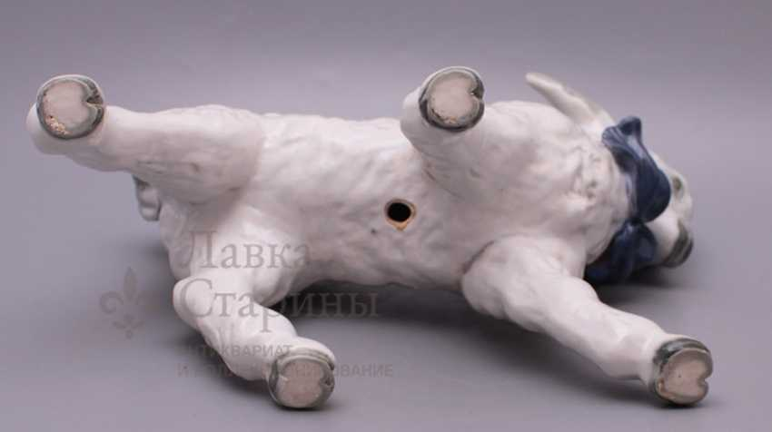 "Figurine of porcelain ""Lamb"", Dulevo plant - photo 3"