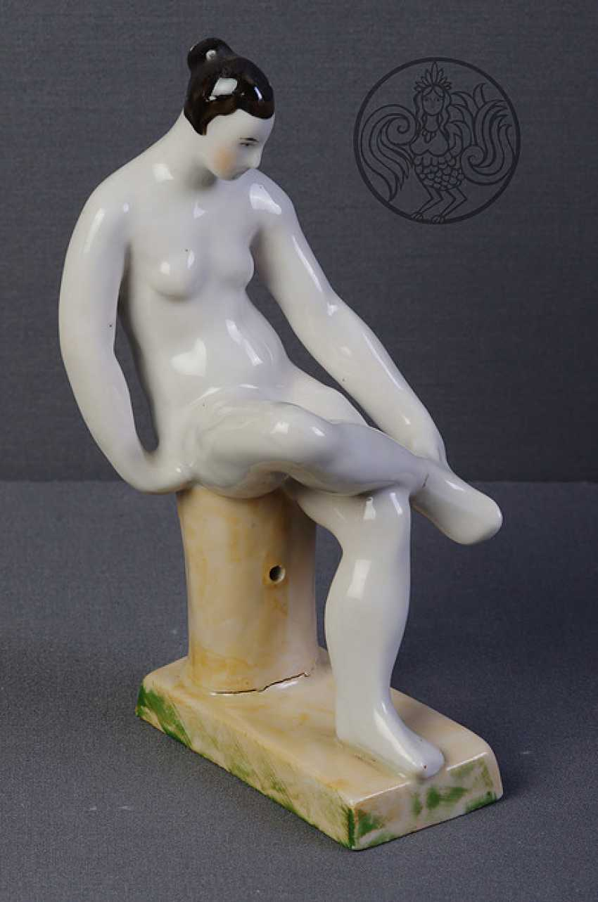 """Figurine from the series """"bathers"""" - photo 1"""