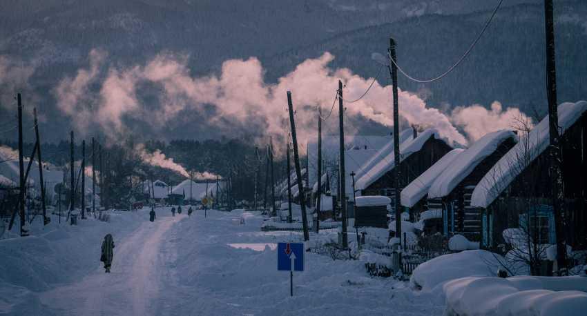 Sergey Giviryaak. Frosty evening - photo 1