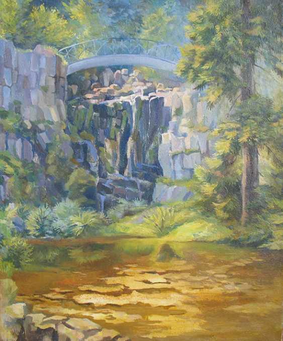 Svitlana Korolievskaia. At the waterfall - photo 1