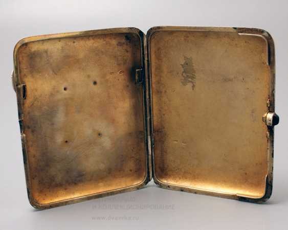 "Soviet silver cigarette case, ""Stalin I. V."", 875 samples - photo 4"