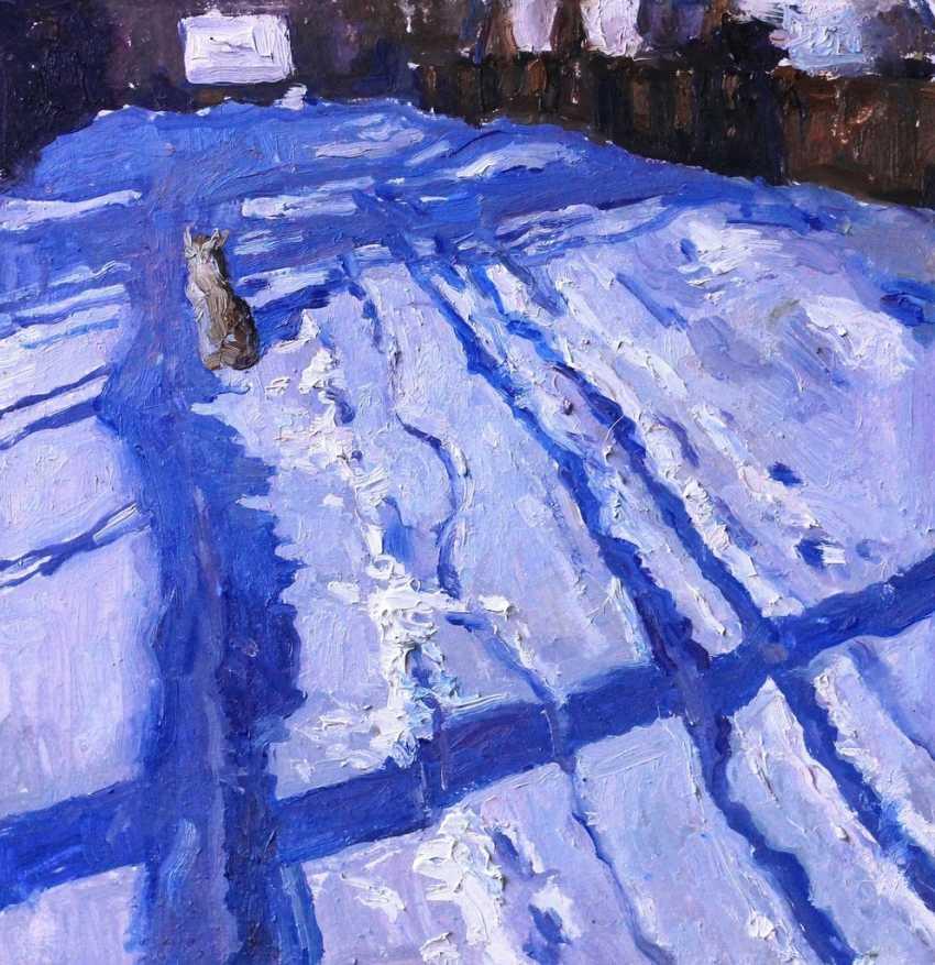 "Ksenya Shapkina. ""Winter road"" - photo 1"