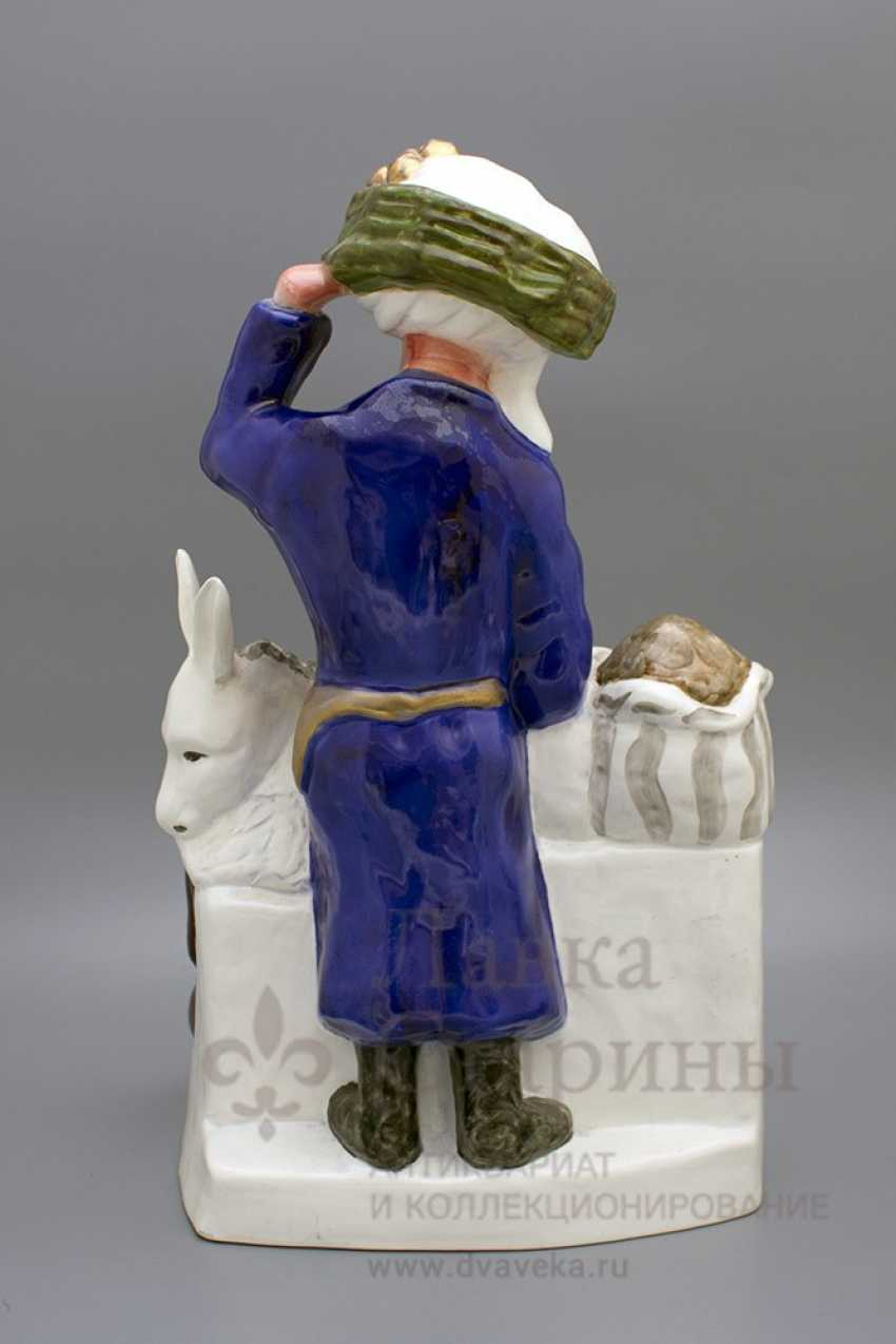 "Sculpture ""Old town"", frih-har, faience, repeat the 1990-2000s - photo 4"