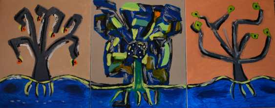 Svetlana Nemontova. Flower-tree-triptych - photo 1