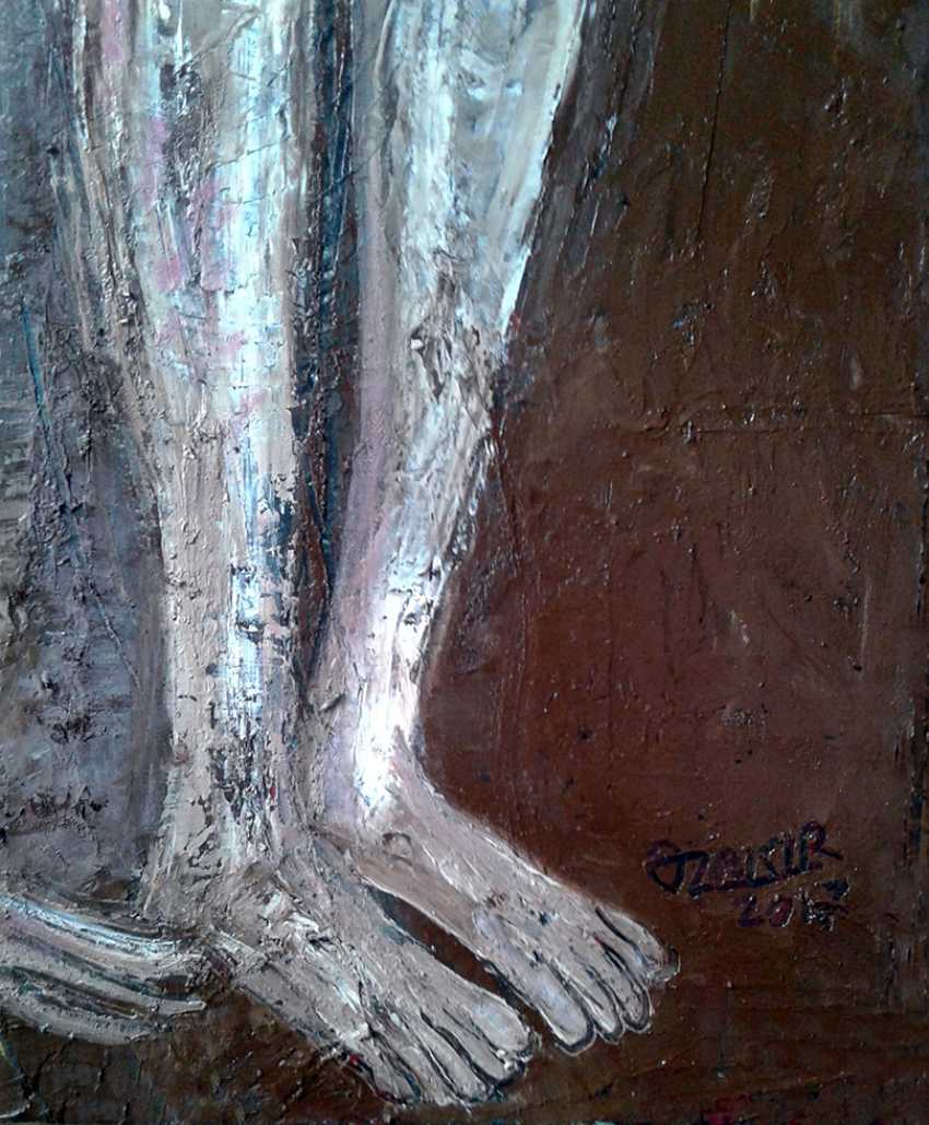 ZAKIR AHMEDOV. .Guess 2017 year Oil Paintings on Canvas40x40cm3500$ - photo 2