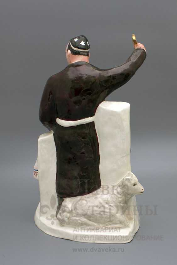 "The sculpture ""Chef–Uzbek"", author frih-har, faience, repeat the 1990-2000s - photo 4"