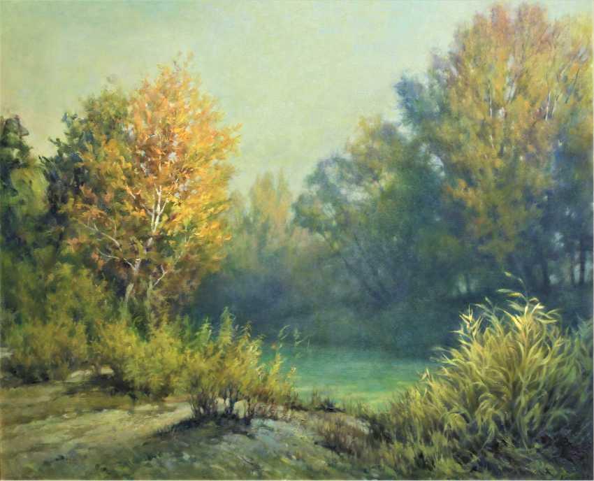 Alexander Kusenko. Autumn morning - photo 1