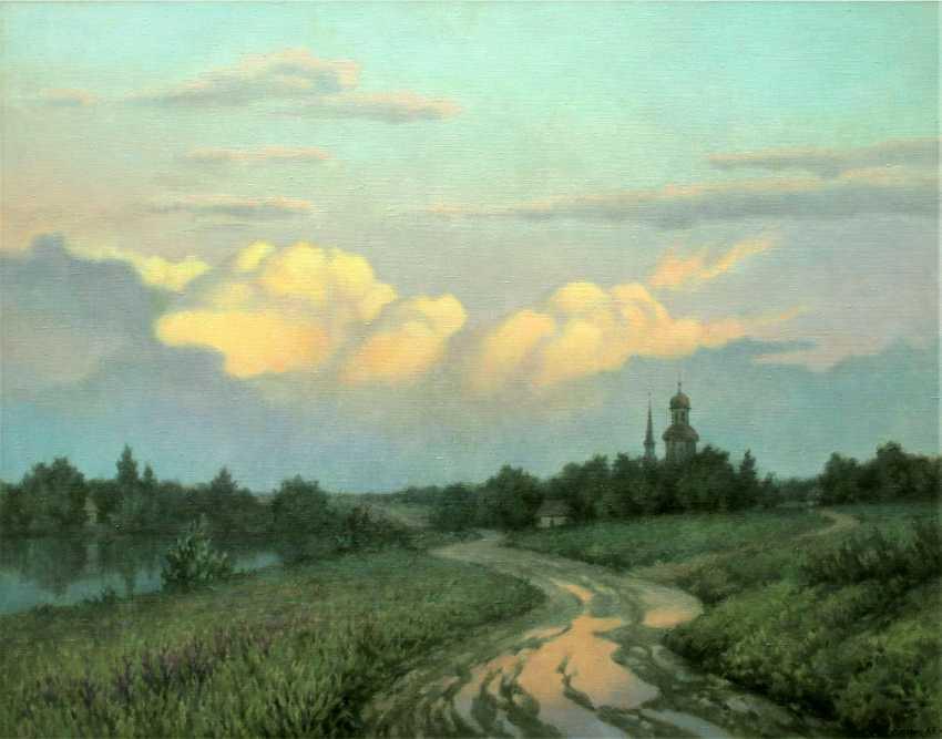 Alexander Kusenko. Summer evening - photo 1