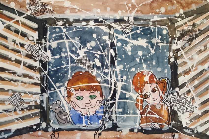 Irina Ageieva. The children are watching us... - photo 1