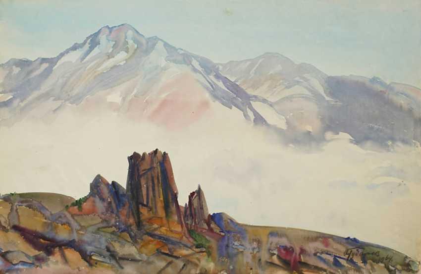 Alexander Gubarev. Kaukasus. Wolken steigen - Foto 1