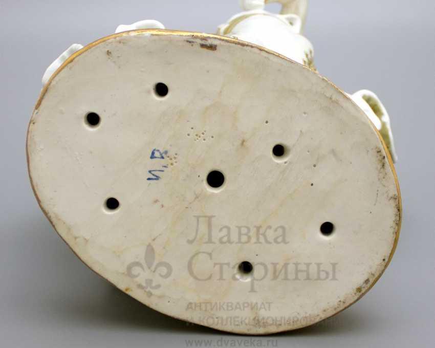 """The sculpture """"Spanish dance"""", LZFI, porcelain, USSR - photo 5"""