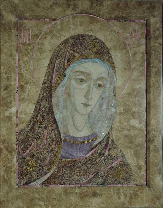 "Aleksei Zagorskij. ""Unsere Liebe Frau"" (Triptychon-деисис Fragment) - Foto 1"