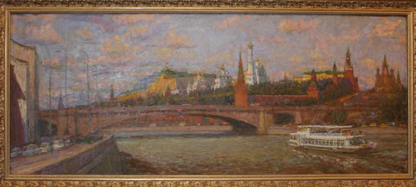 "The painting ""Moskvoretsky bridge"" - photo 1"