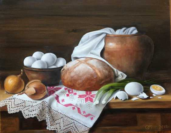 "Olga Migacheva. Still life ""Rustic with a towel"" - photo 1"