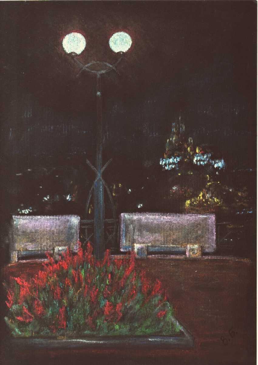 Victoria Buchina. Night. University hill. - photo 1