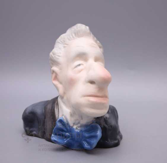 The bust of the stage Director V. E. Meyerhold - photo 2