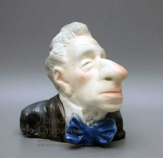 The bust of the stage Director V. E. Meyerhold - photo 1