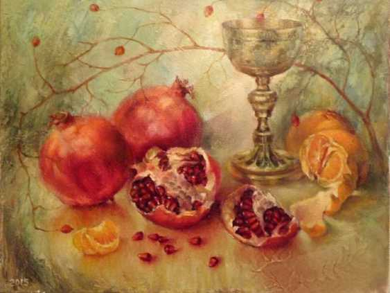 """Boris Belenko. """"Grenades,antique chalice and a branch of the wild rose"""" - photo 1"""