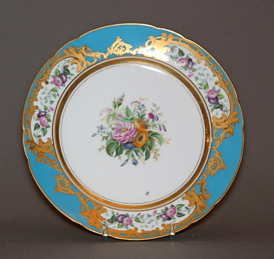 Plate of porcelain - photo 1
