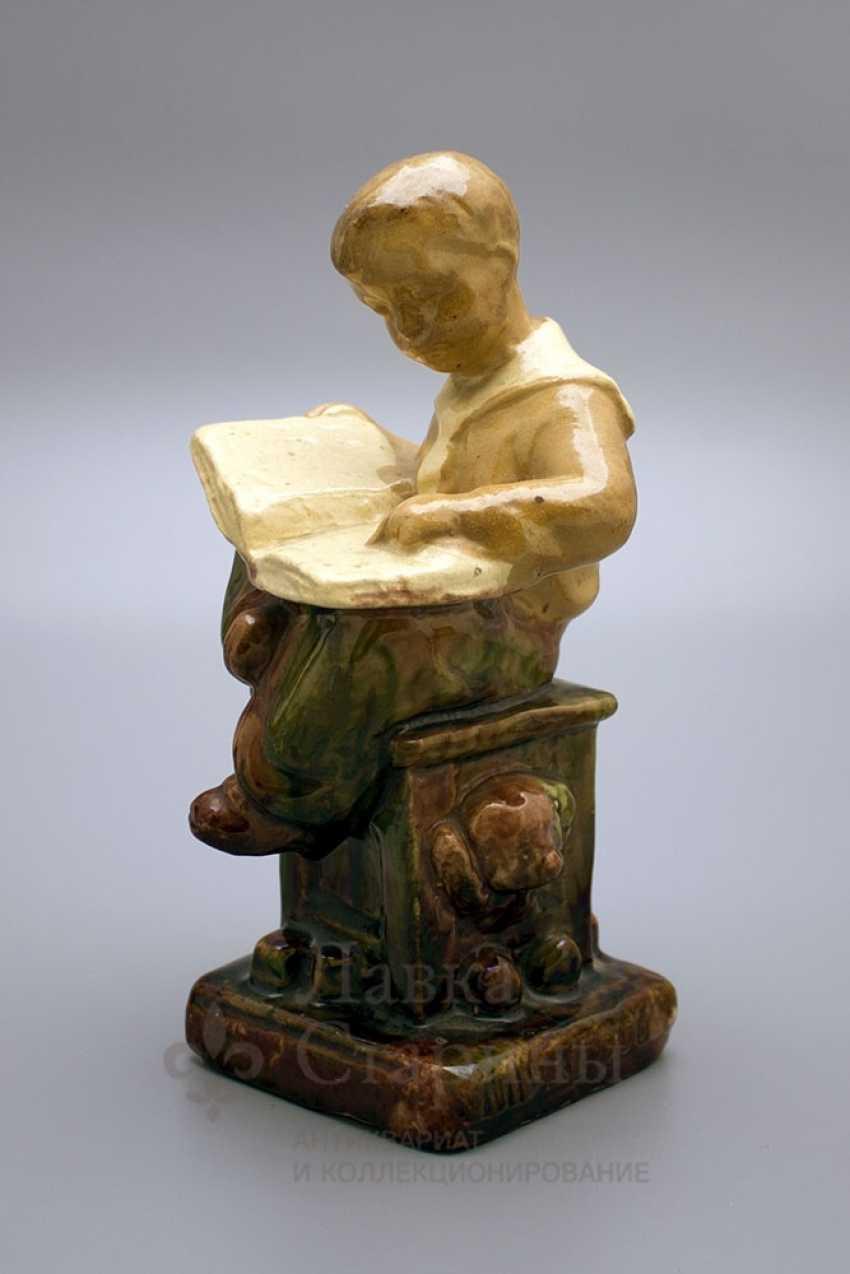 "Figurine ""Boy reading book"" - photo 2"
