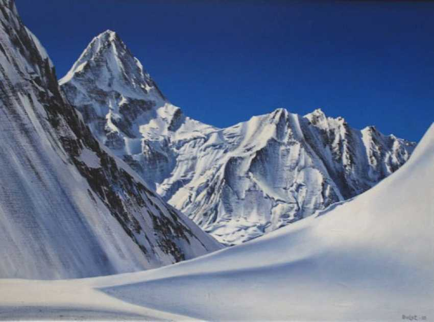 Bulat Akhmetov. peak Khan Tengri - photo 1