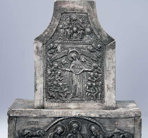 The tabernacle, Russia, presumably 17th-18th centuries, tin - photo 11