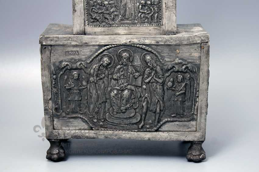 The tabernacle, Russia, presumably 17th-18th centuries, tin - photo 5