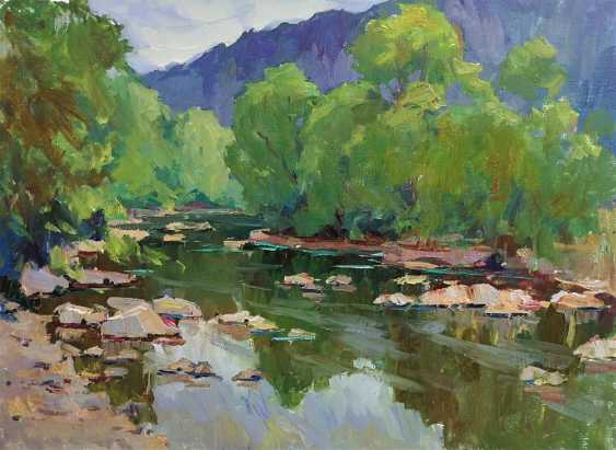 Sergei Chernyakovsky. River - photo 1