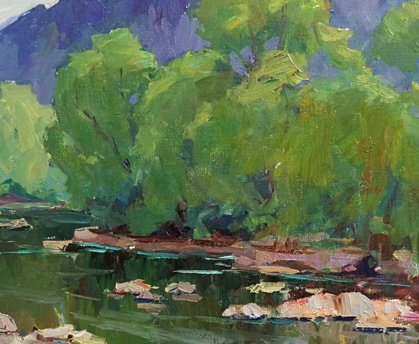 Sergei Chernyakovsky. River - photo 3