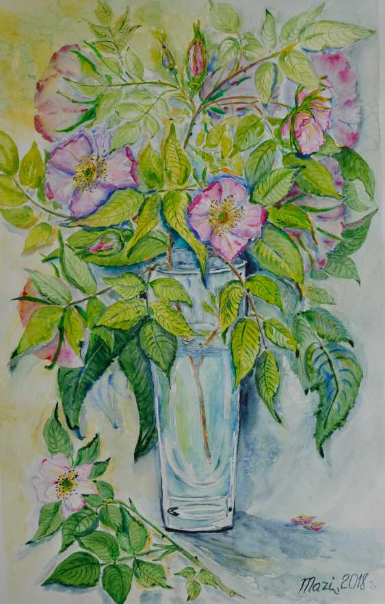 Maryna Pashchenko. Wild rose. - photo 1