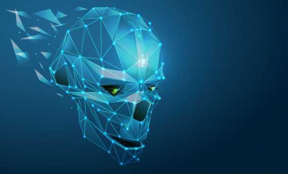 Irina Shibanova. Robot head technology concept - photo 1