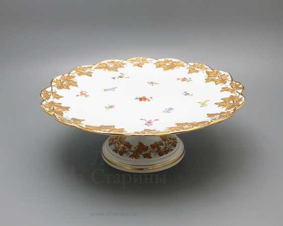 Porcelain vintage tortiza, Meissen, 19th century, European porcelain - photo 1