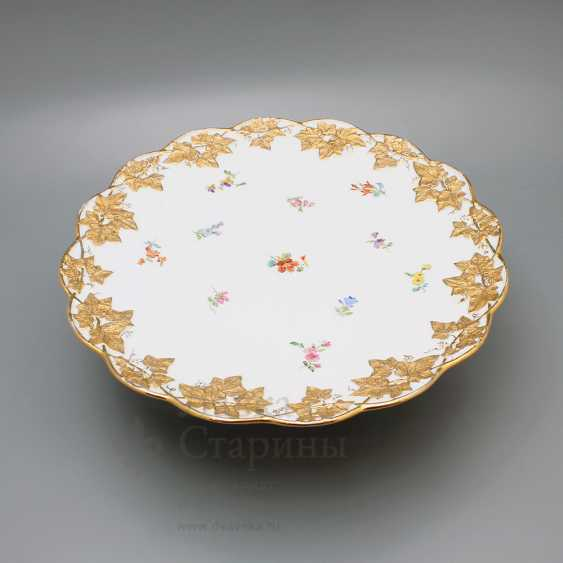 Porcelain vintage tortiza, Meissen, 19th century, European porcelain - photo 3