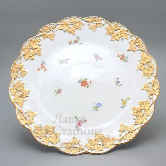 Porcelain vintage tortiza, Meissen, 19th century, European porcelain - photo 4