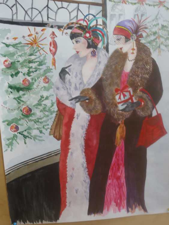 Mila Clifford. Christmas - photo 2