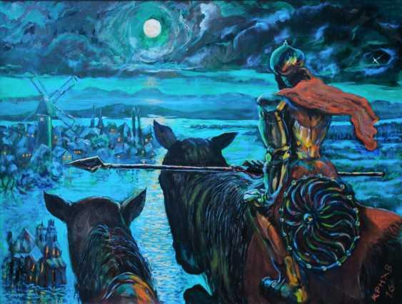 Лев карнаухов. Ночной дозор - фото 1