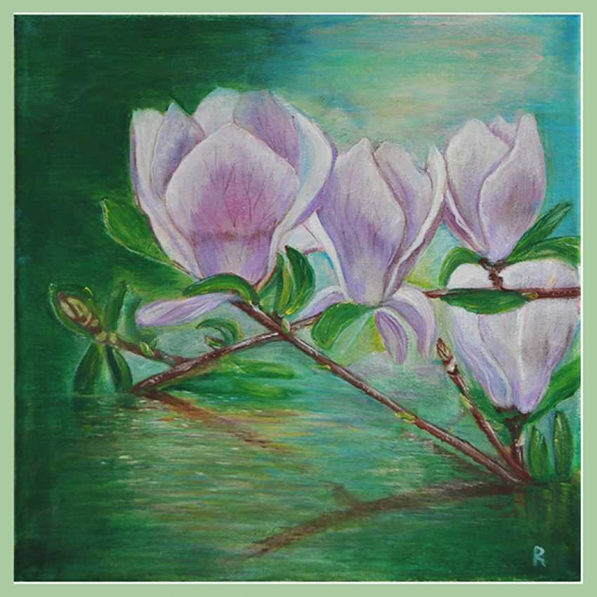 Liudmila Rybakova. Magnolia pond - photo 1
