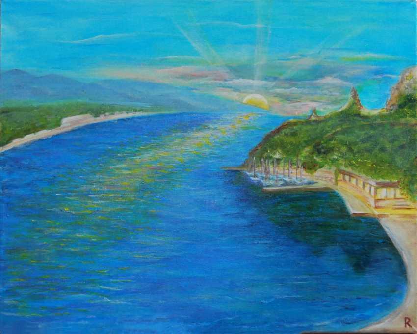 Liudmila Rybakova. Dawn in the Bay of Angels. - photo 1
