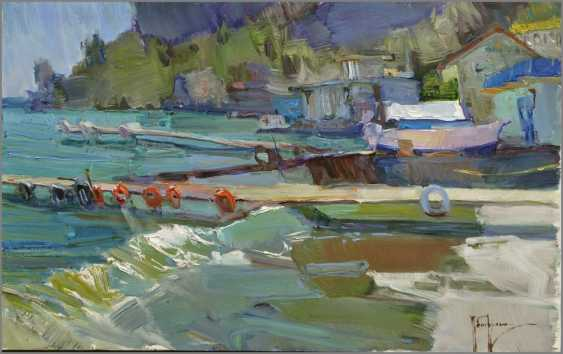 "Alexey Petruhyn. The series of paintings ""Seaside towns"" - photo 1"