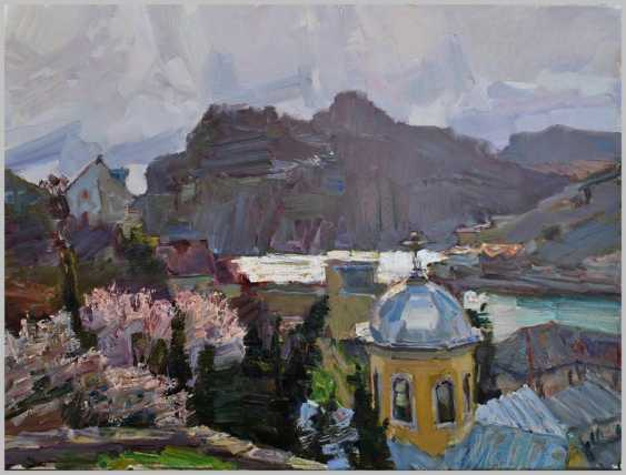 "Alexey Petruhyn. The series of paintings ""Seaside towns"" - photo 2"