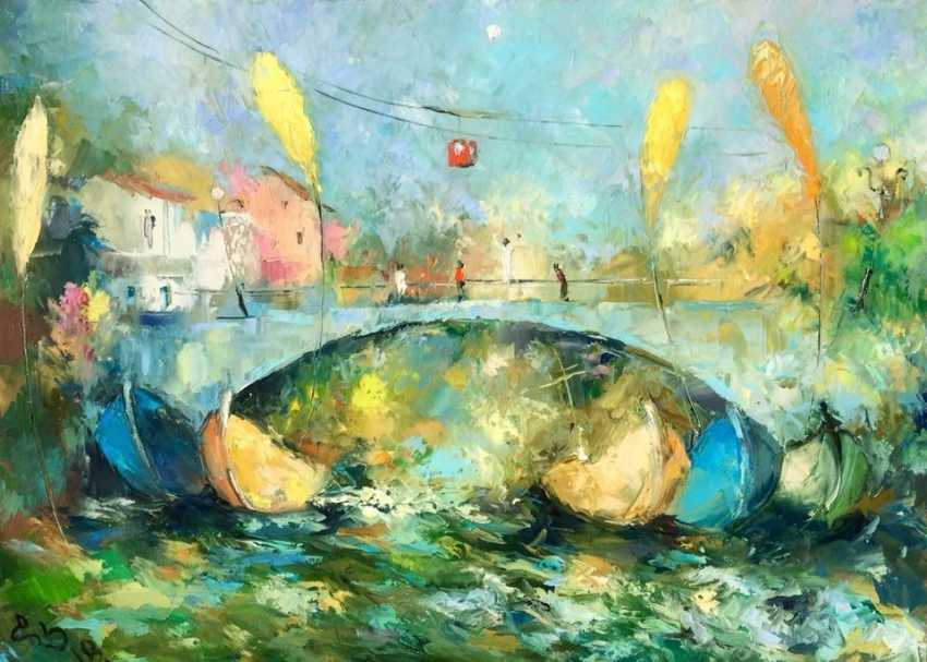 "David Kezevadze. ""Over the river"" - photo 1"